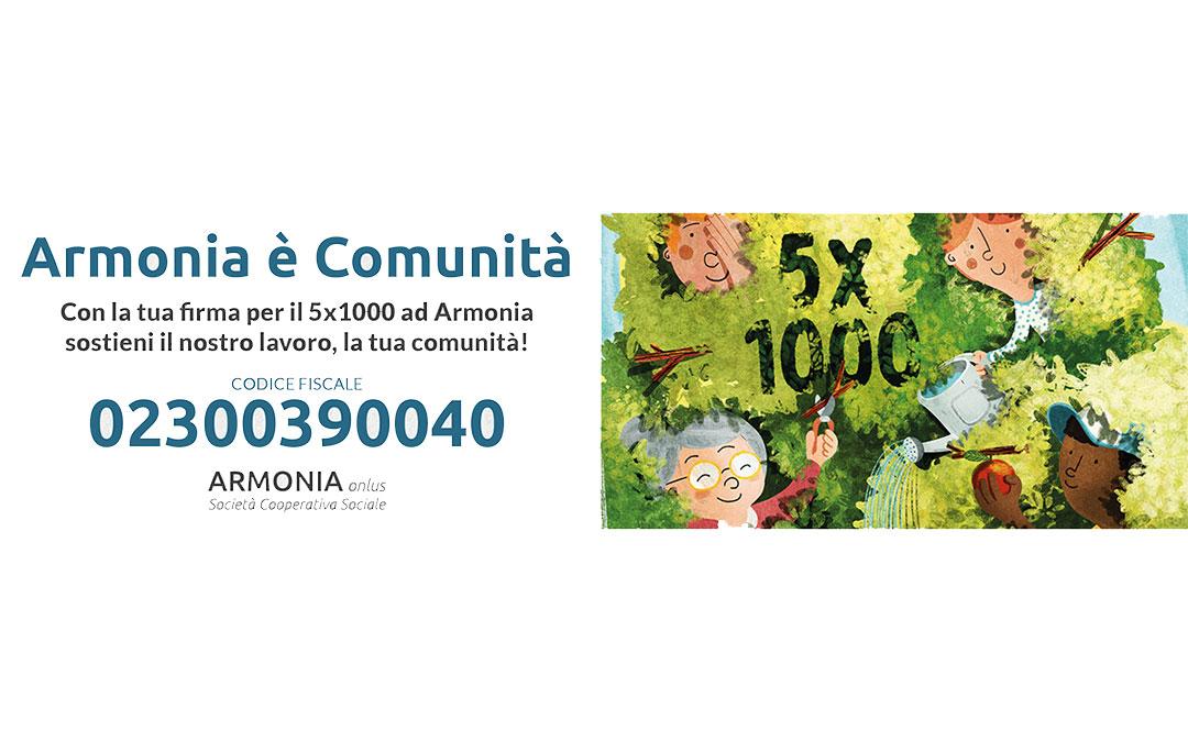 Armonia 5x1000 - Banner Web