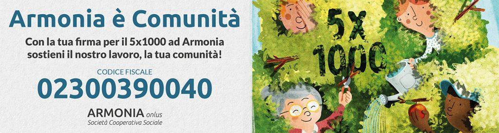 Armonia 5x1000 - banner